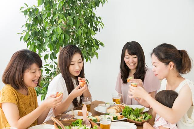 ママ友と食事