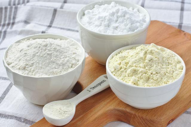 3種類の粉