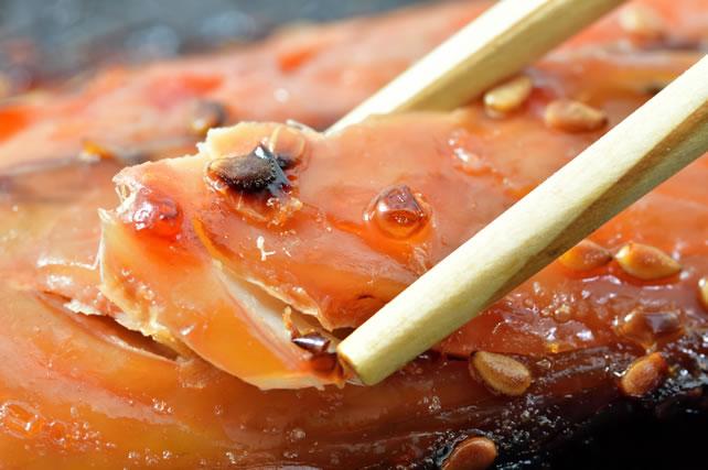 みりんを使った魚料理