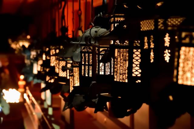 春日大社の灯籠