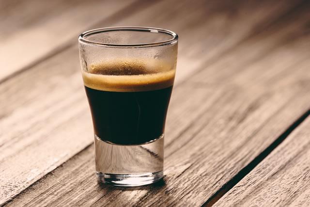 コーヒーが入ったコップ