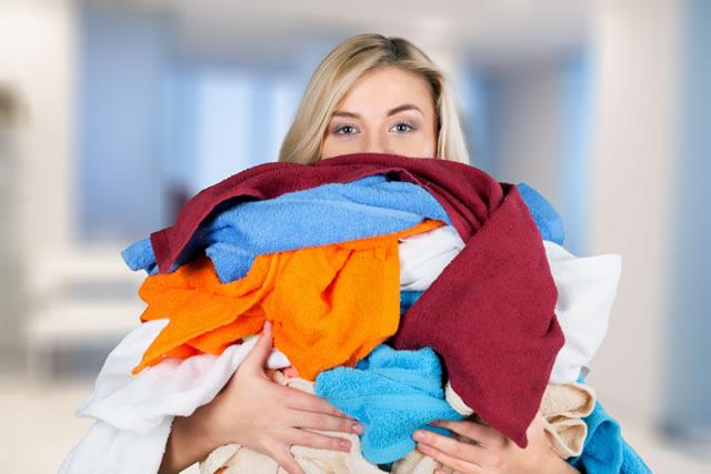 ぐちゃぐちゃの洗濯物