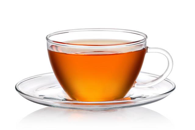 紅茶の入ったコップ