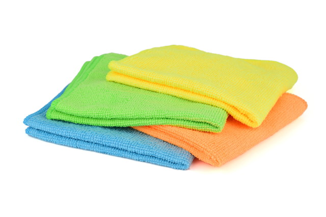 カラフルな布巾