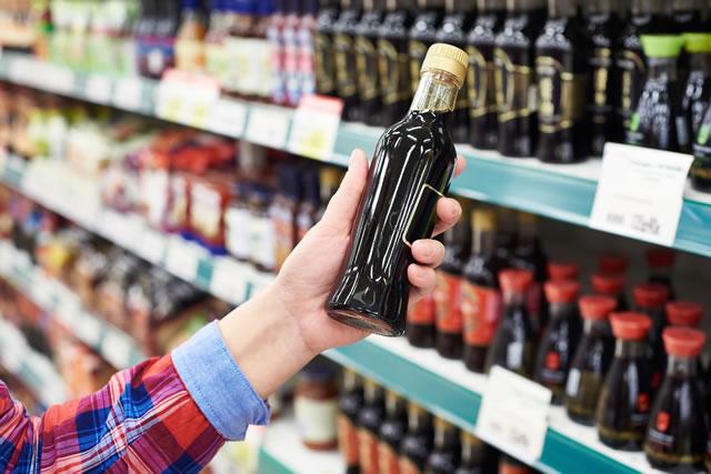 瓶の賞味期限確認イメージ