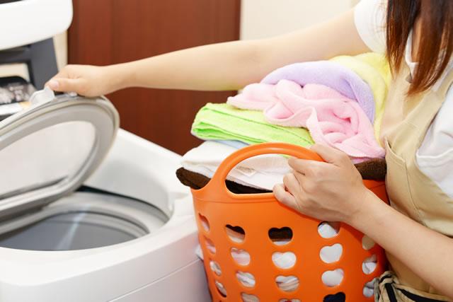 洗濯物の量