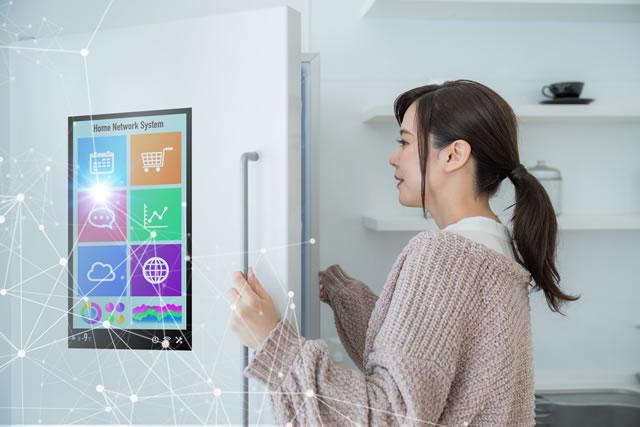 冷蔵庫の設定・節電イメージ