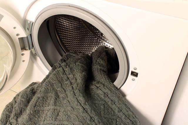 セーター洗濯