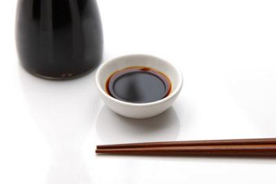 醤油と小皿