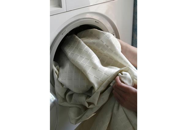 洗濯機に入れるカーテン