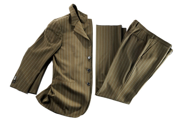 Isolated formal wear apparel