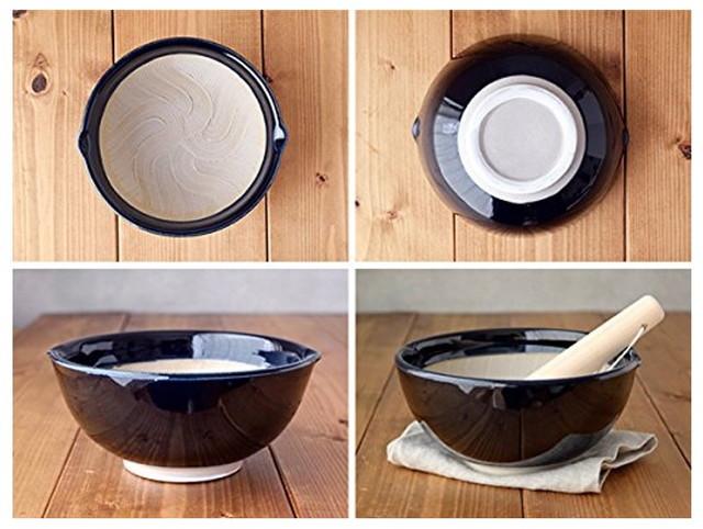 テーブルウェアイースト すり鉢(小) 波紋 ボウル 和食器 鉢 ルリ