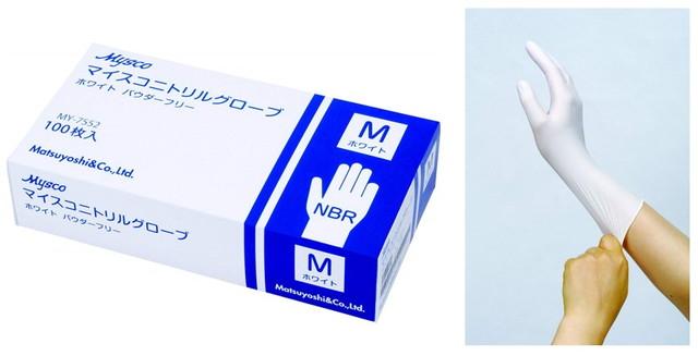 使い捨て手袋ニトリルグローブ