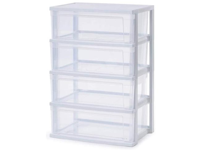 アイリスオーヤマ チェスト 4段 プラスチック天板