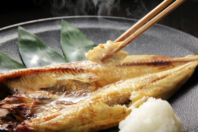 ほっけの焼き魚