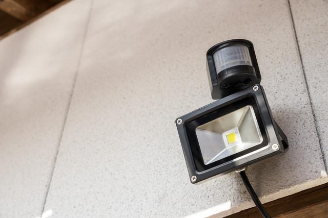 LEDのセンサーライト