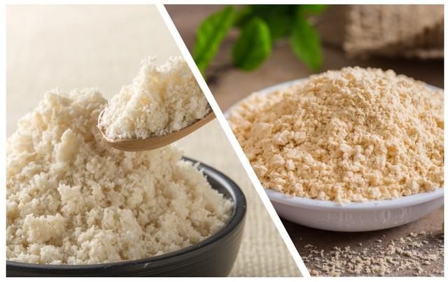 おからパウダーと大豆粉