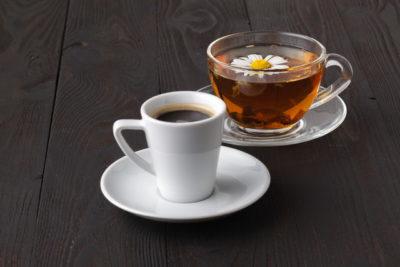 コーヒーと紅茶