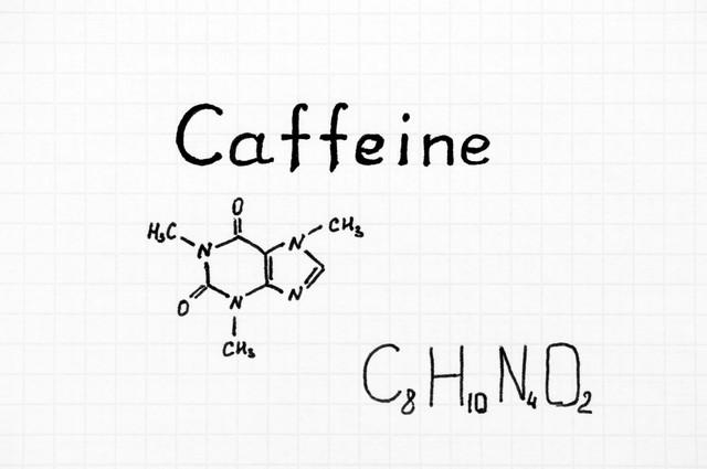 カフェインと記号