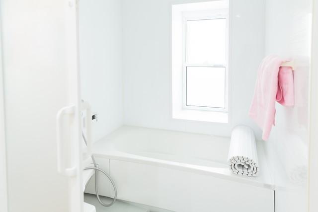 白いバスルーム