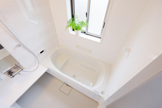 片付いた浴室