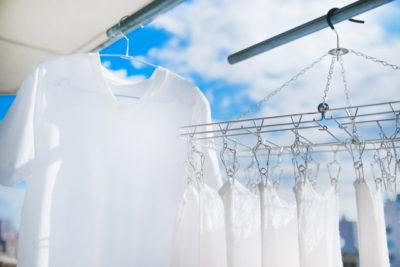 洗濯、タオル、家事、Tシャツ、天気